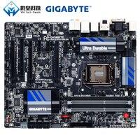 Original Verwendet Desktop Motherboard Gigabyte GA Z87X UD3H Z87 LGA 1150 Core i7 i5 i3 DDR3 32G SATA3 USB3.0 VGA DVI DP E Sata ATX-in Motherboards aus Computer und Büro bei