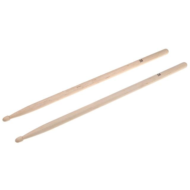hot sale pair of 5a maple wood drumsticks stick for drum drums set lightweight professional. Black Bedroom Furniture Sets. Home Design Ideas