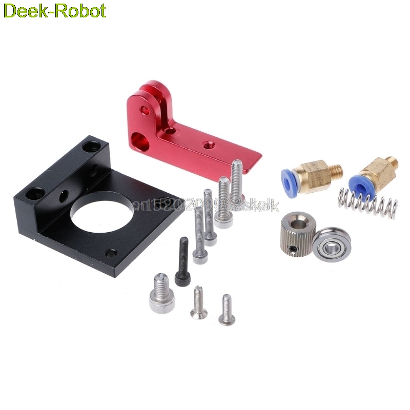 MK8 Aluminum Alloy Bowden Extruder For 1.75mm Filament 3D Printer Parts Reprap #H029# 3d printer accessory aluminium alloy for reprap bowden extruder parts for1 75mm filament 0 4mm nozzle