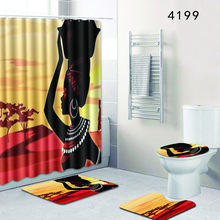 b090d83525f89 Popular African American Woman Shower Curtain-Buy Cheap African ...