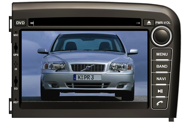 7 inch 2 din Android 7.1 for <font><b>Volvo</b></font> s80 1998 2006 car DVD,gps navigation,3G,BT,Wifi,px3,1080P,2GB ram,support dvr function