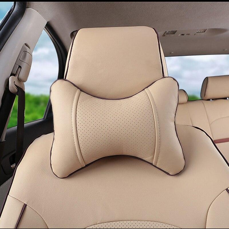 CARTAILOR PU Dəri örtüklü oturacaqlar Mitsubishi Pajero İdman - Avtomobil daxili aksesuarları - Fotoqrafiya 4