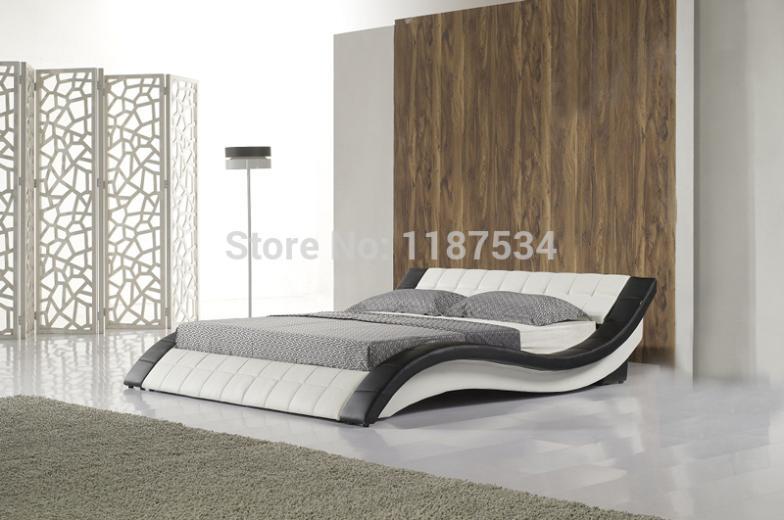 C305 PU+PVC modern soft bed leather soft bed large size bed икона янтарная богородица скоропослушница кян 2 305