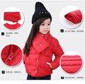 2016 winter new children's cotton round neck children bib collar cotton clothing for men and women warm cotton jacket age  2-8T