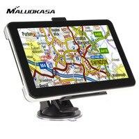 MALUOKASA 7 inch HD Auto GPS Navigatie 4G Memory Auto Navigator Rusland Amerika Europa Kaart Afslag-Turn Aanwijzingen Lifetime Kaart