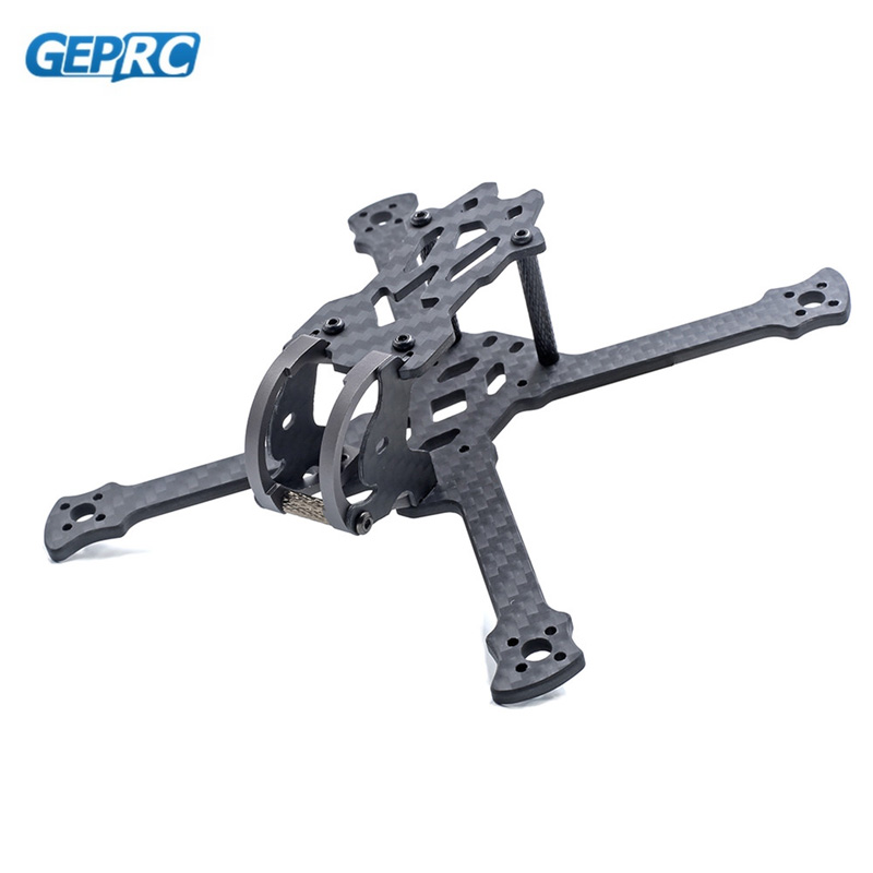 GEPRC GEP-PX2.5 2.5 Inch 125mm Wheelbase 3mm Arm 3K Carbon Fiber Frame Kit for RC Drone FPV Racing Motor ESC Flight Controller geprc diy fpv mini drone gep bx5 flyshark quadcopter 3k pure carbon fiber frame for the racing 4 5 6 4mm main arm plate