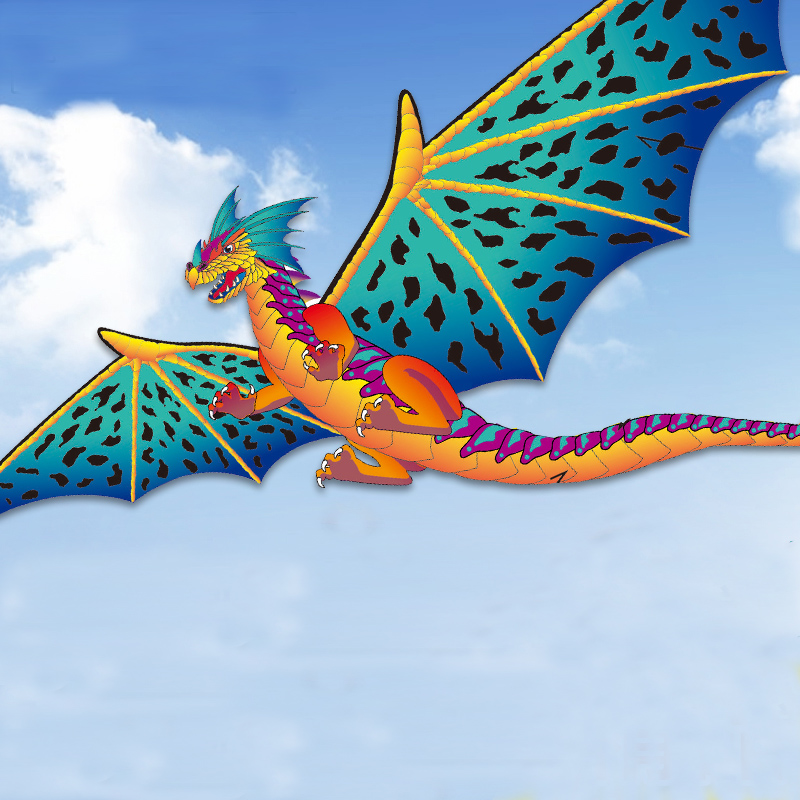 190*330cm Big Stereo Dragon Kite Creative Children Dinosaur