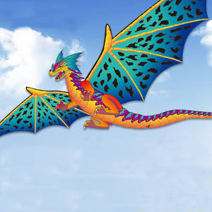 190*330cm Big Stereo Dragon Kite Creative Children Dinosaur Kites 400cm Tail Easy To Fly Big Outdoor Sports Kite Kids Gift Adult