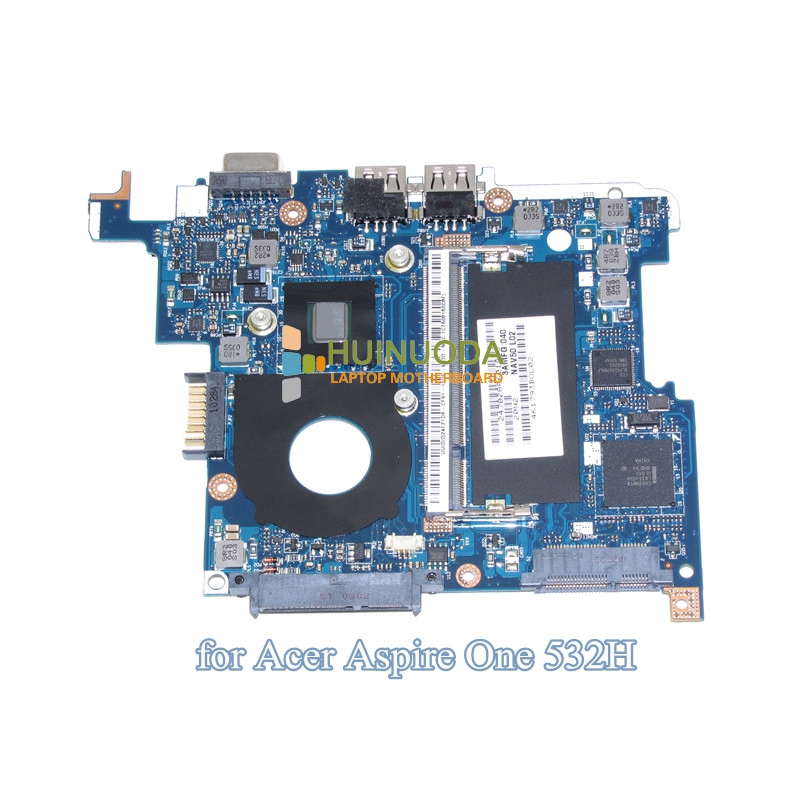 MBSCH02001 NAV50 LA-5651P Laptop Motherboard for Acer Aspire One D260 LT23 System board Atom N450 1.66Ghz CPU Mainboard Tested for acer one 522 e522 laptop motherboard mainboard la 7072p mb ses02 001 100