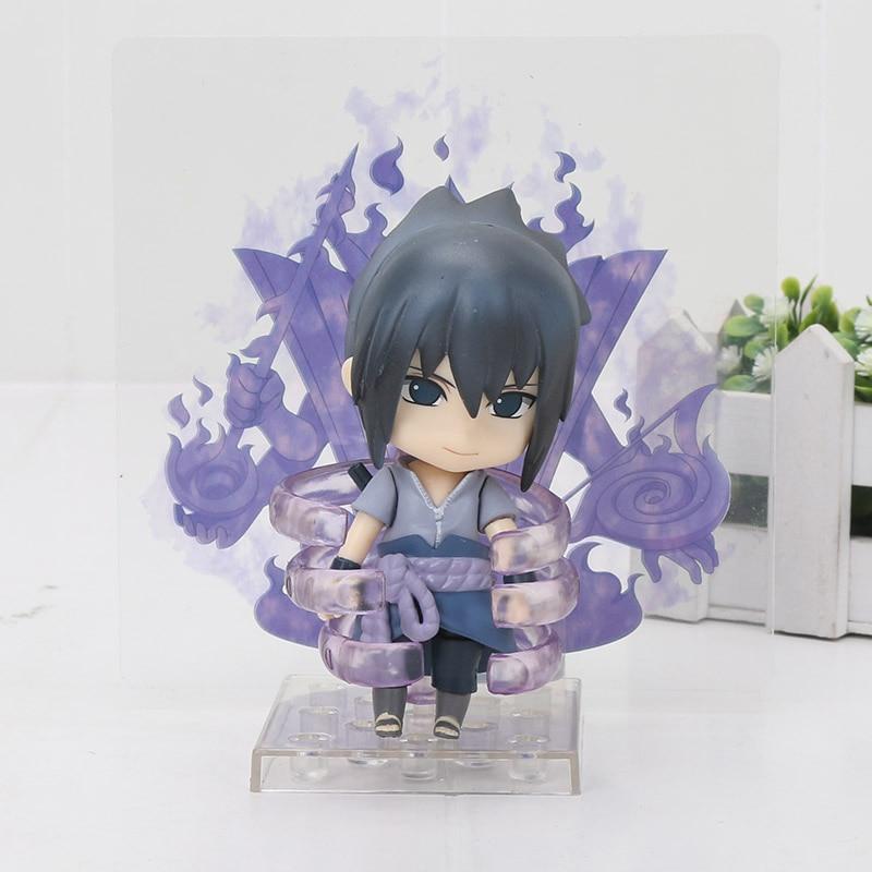 Anime Naruto Uzumaki Nendoroid 682 Sasuke Uchiha 707 Hatake Kakashi 724 Itachi PVC Action Figure Collectible Model Toy 10cm