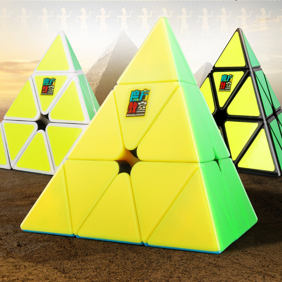 Moyu 3x3 Cube Moyu Meilong Pyramid Magic Cube Puzzle 3x3 Cube Professional Puzzle Toys For Children Kids Gift Toy