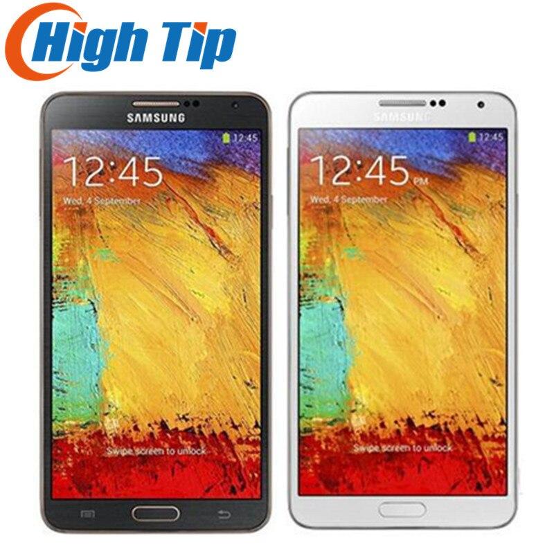 Débloqué Original Samsung Galaxy Note 3 N900 N9005 Mobile téléphone Quad Core WiFi GPS RAM 3 GB 13MP Téléphone Remis À Neuf dropshipping