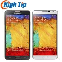 Original Unlocked Samsung Galaxy Note 3 N900 N9005 Mobile Phone Quad Core WiFi GPS RAM 3GB