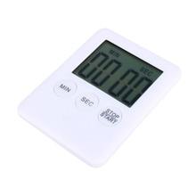 2 Colors Square Large LCD Digital Kitchen Timer Cooking Timer Alarm Clock Magnet Despertador Digital Table Clock Temporizador