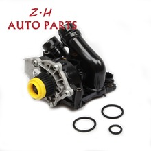OEM Gasoline Engine Water Pump Assembly Car Pump 06H 121 026 CQ Fit VW Passat CC Jetta Golf Skoda Octavia Seat AUDI A3 A4 TT NEW genuine new high quality camshaft kit fit for vw cc r32 rabbit passat cc golf passat audi a3 a4 1 8t 06h109021j 06h109022l