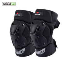 WOSAWE Bicycle and Motorcycle Protective Knee Guard Pads Anti-drop for Outdoor Extreme Sports Lover