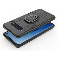 Mobile phone case with finger ring can be attached to mobile cover. Drop-proof protective cover is suitable for Samsu