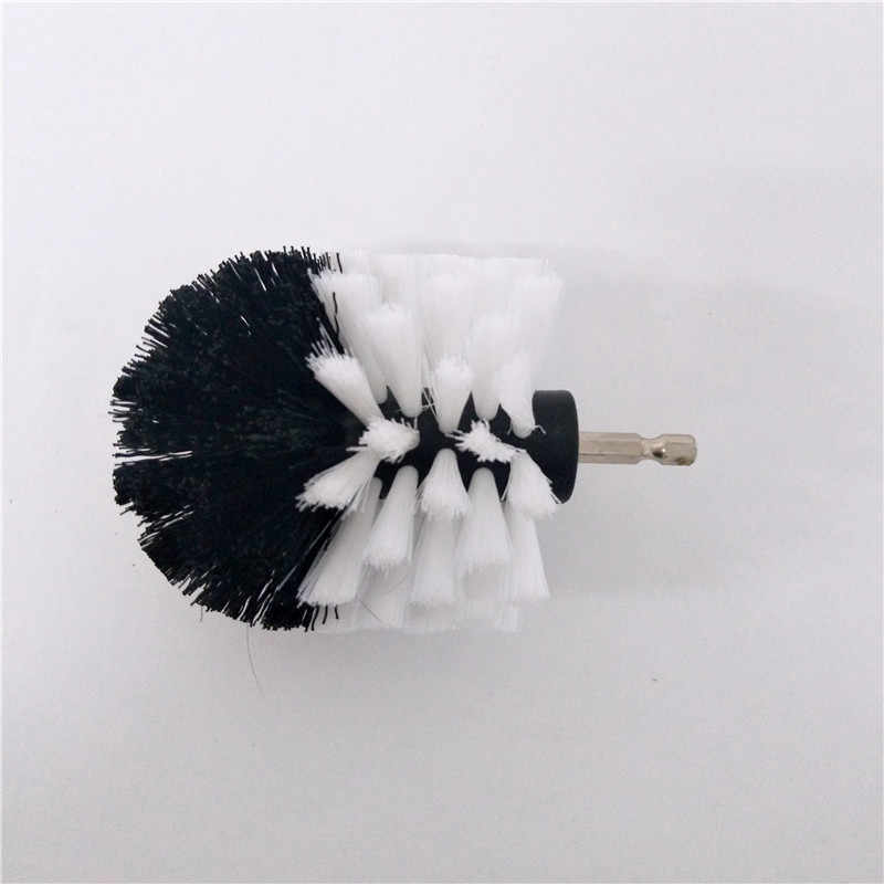2 pc drill brush Power Scrub Brush Clean Brush used on Electric Drill for Carpet Sofa Leather Plastic Wooden free shipping