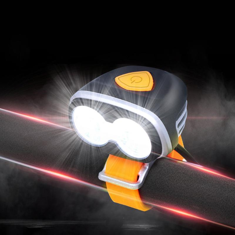 1200 Lumen Bike Light Lamp XM-L2 LED Waterproof Cycling Bicycle Front Light Flashlight & USB Rechargeable Bike Accessories tsleen 6000lm cree xm l t6 front led bicycle light rechargeable bike lamp flashlight outdoor