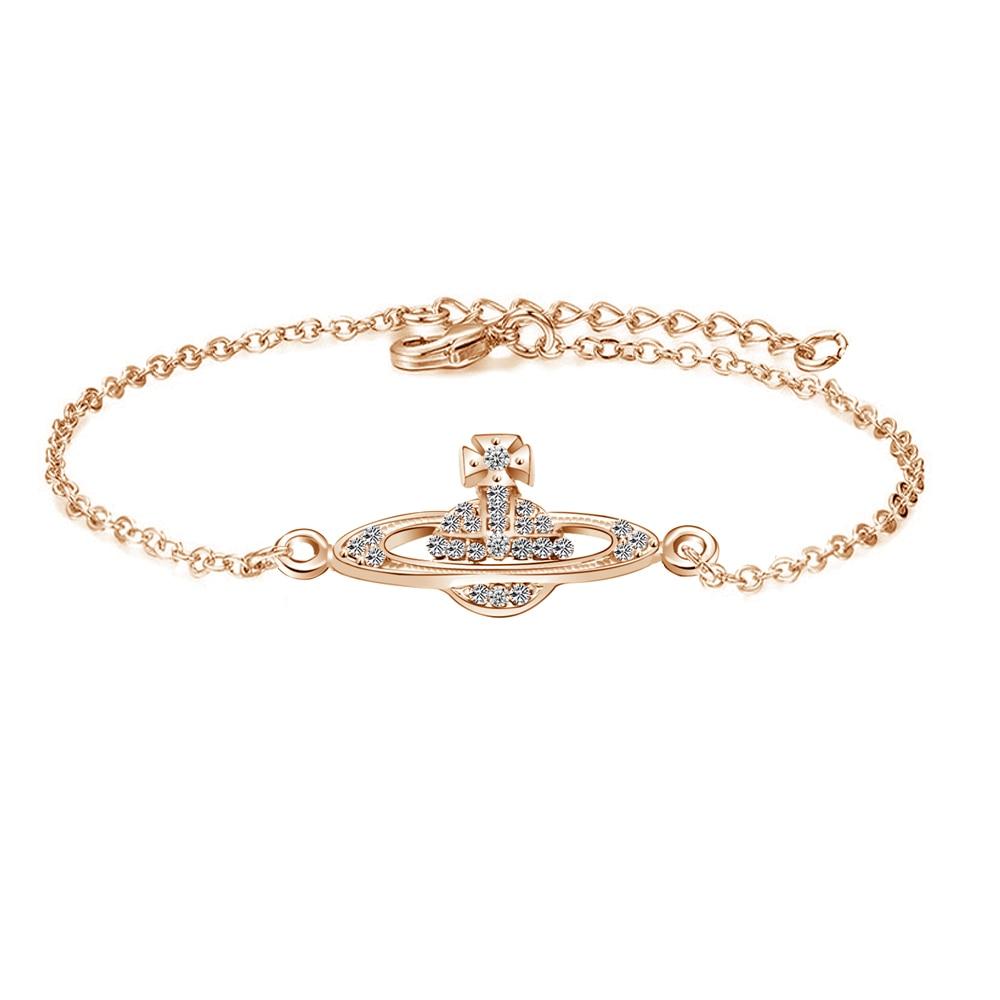 Bracelet Bangle Simple Retro Rhinestone Leaf Chain Girl/'s Gift Women Jewelry