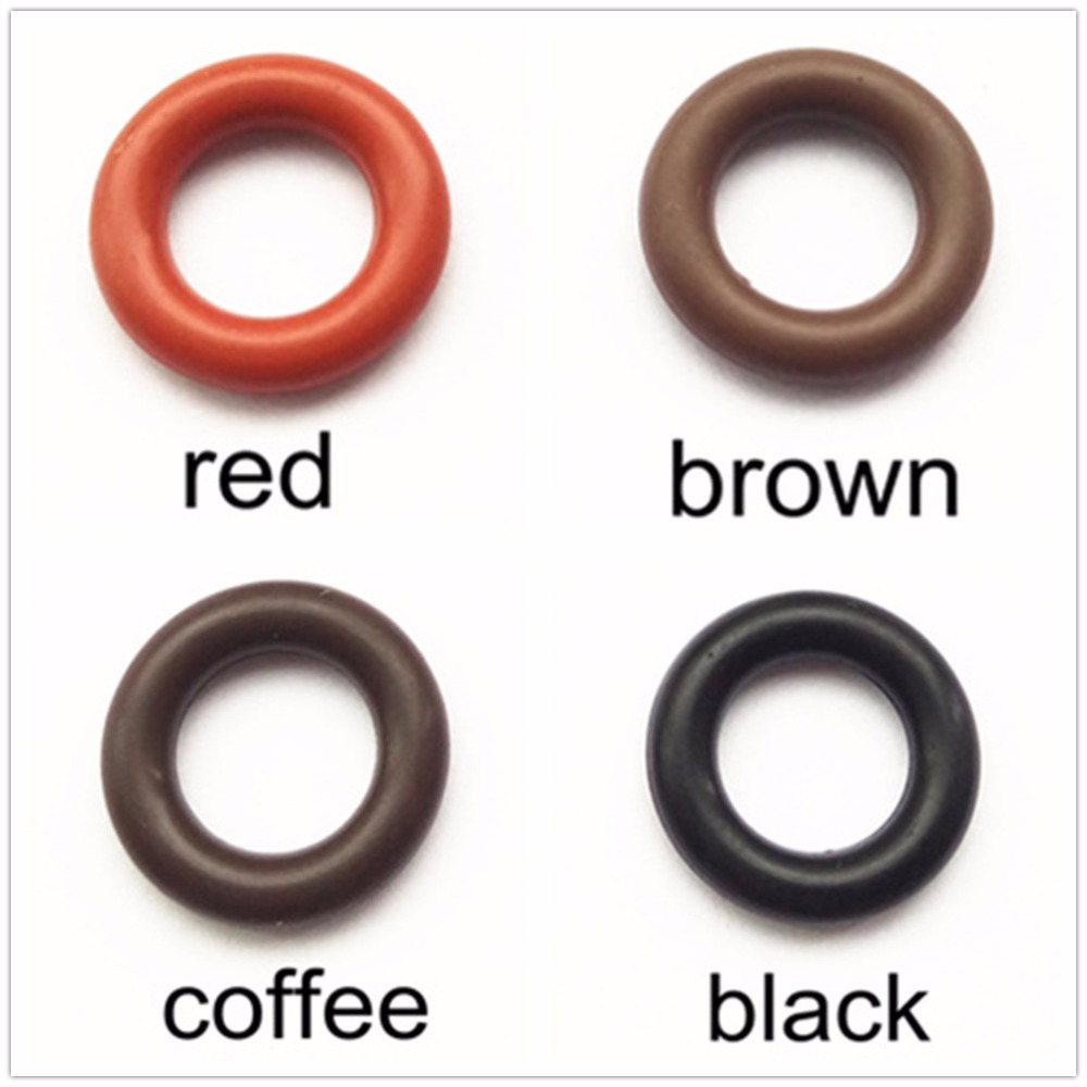free shipping 500pieces viton o ring seals 14 5 8 5 3mm for bosh fuel injector