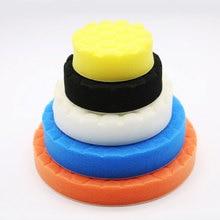 Bu bauty 5 pces kit de almofada de polimento para polidor de carro automático 3/4/5/6/7 polegadas