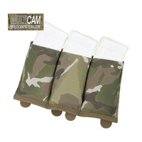 TMC TS M4 Triple Magazine Pouch Genuine Multicam Elastic Fabrics Molle Mag Pouch(SKU051270)