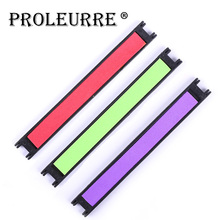 Proleurre 10Pcs EVA Foam Fish Winding Storage Boards Line Fishing Lure Trace Wire Holders Carps Crucian