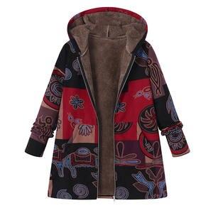 46945dfe630 2018 ZANZEA Long Sleeve Winter Coat Women Plus Size