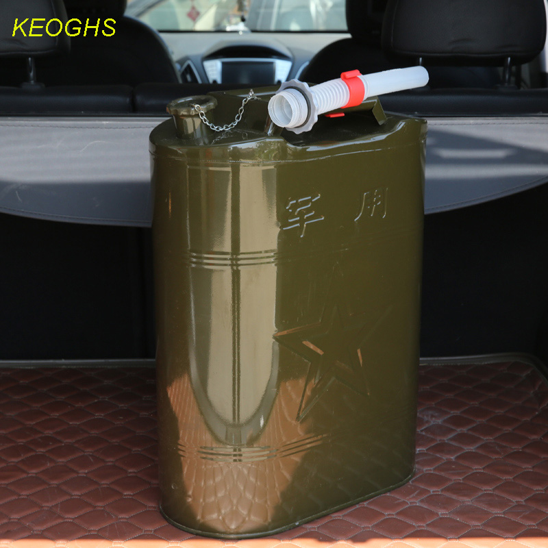 10L 2 64Gal Fuel free Petrol cans Jerry cans military Fuel Tank Spare Petrol Oil Gasoline