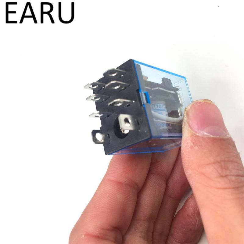 HTB127Q5PVXXXXXtXFXXq6xXFXXXn - Free Shipping 1Pc LY2NJ HH62P HHC68A-2Z Electronic Micro Mini Electromagnetic Relay 10A 8PIN Coil DPDT DC12V,24V AC110V 220V Hot