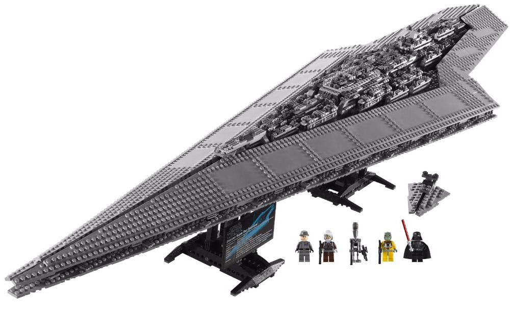 LEPIN Star Wars Super Star Destroyer STARWARS Model Building Blocks Kits Toys For Children  Marvel Compatible Legoe lepin city town city square building blocks sets bricks kids model kids toys for children marvel compatible legoe