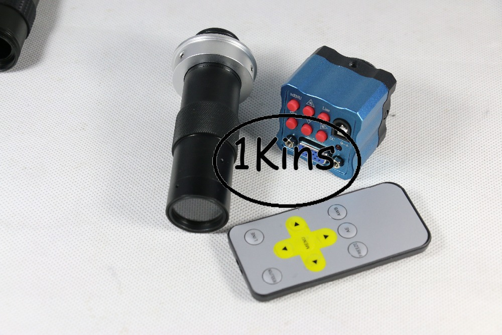 Free shipping mini high speed VGA Industry Microscope Camera 1/3 inch sensor 2MP IR Remote Control for PCB Industry Industrial factory direct sale mini industry microscope stand lcd digital microscope camera arm holder size 40mm