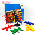 Cartoon Clown Stacking Toys Game Children Balance Toy Piling Up Table Game Montessori Kids Learning Educational Toys