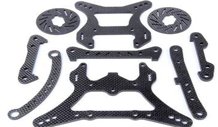 LOSI 5T Spare parts LT Carbon fibre set