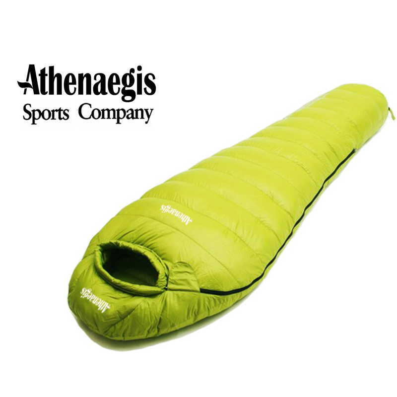 Athenaegis White Goose Down 2000G Filling Adult Use Sleeping Bag Sac De Couchage Slaapzak Lazy Bag Uyku Tulumu цена