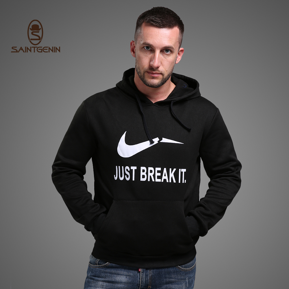 SainTgenin Men Print Thick Hoodies Fashion O-Neck Full Sleeve Bape Warm Breathable Soft Hoodie Cotton Polyester Sweatshirt - AEMBOTIONEN Shop Store store