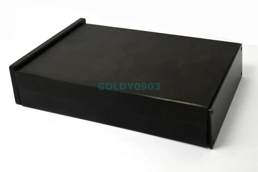 WA42 Aluminium Penuh Preamplifier Kandang/Amplifier Tabung Amp Chassis/DAC Case