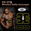Unidade de Massagem recarregável Sem Fio Elétrico Unidade de Eletroterapia Massageador TENS Dor Nas Costas Alívio ABS Ajuste Massageador Estimulador Muscular