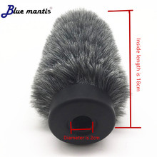 Dead Cat Outdoor windproof artifical fur windscreen shield for Rode Ntg3 For me66 MKH416 418 Sony 670 678
