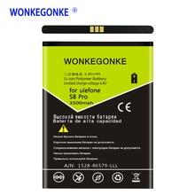 Wonkegonke для ulefone S8 S8 Pro Аккумулятор 5,3 дюйма MTK6737 MTK6580 батареи мобильного телефона Bateria