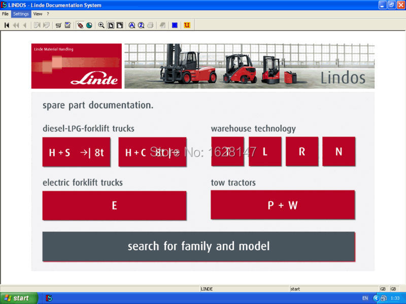 Linde Forklift Parts Catalog 2015 with date patch