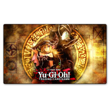 YU-GI-OH Playmat Dark Magic Girl Custom Print Playmat, Board Games Cards Playing Cards Game Table Pad(China)
