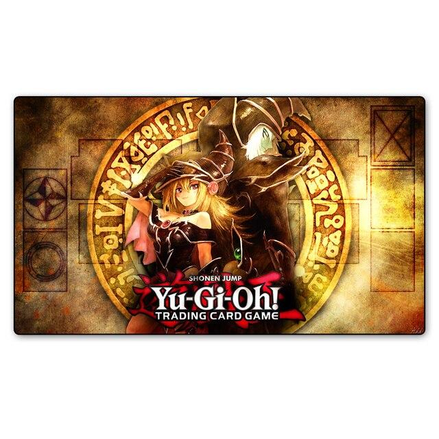 YU-GI-OH игровой коврик темная Волшебная девочка на заказ Печать игровой коврик, настольные игры карты игральные карты Настольный коврик