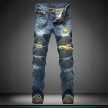 man straight Casual pants boy jeans men designer brand pants straight new trousers fear of god