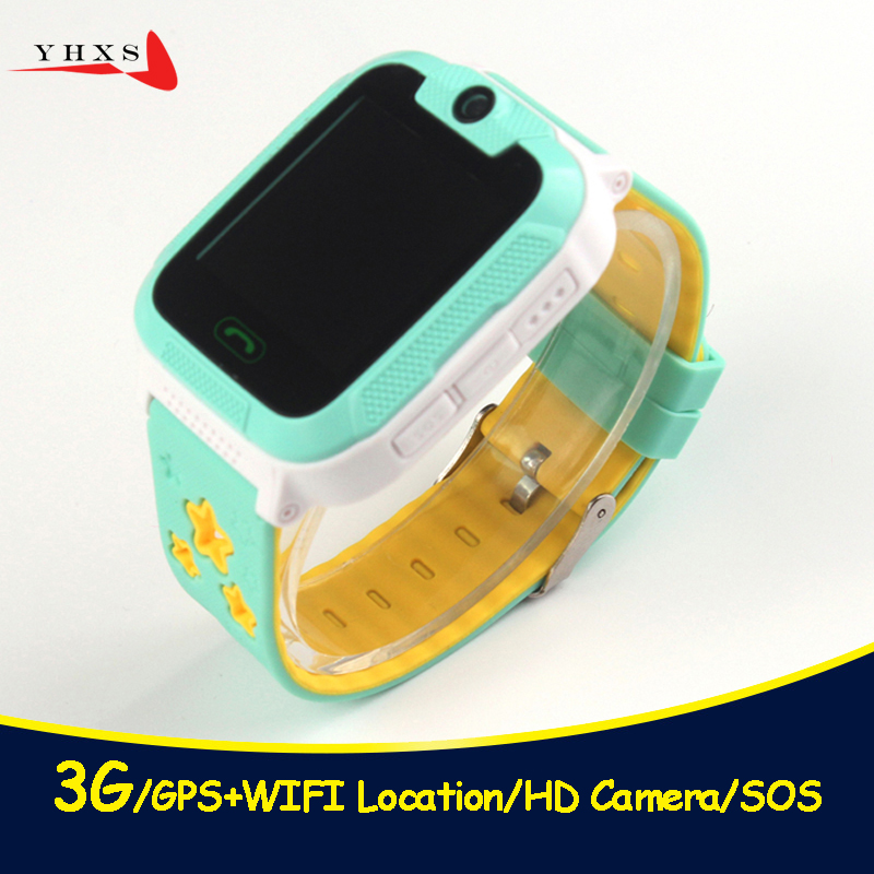 New 3G Wifi GPS Tracker Children Smart Watch Touch Screen Security Fitness Monitor Smartwatch With Camera SOS For iOS Android fansaco bluetooth smart watch children kids wristwatch security gps waterproof smartwatch sos camera for ios android devices