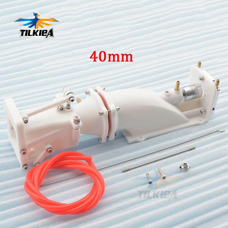40mm Water Jet Boat Pump Spray Water Thruster With Reversing System 40mm Propeller 5mm Shaft w