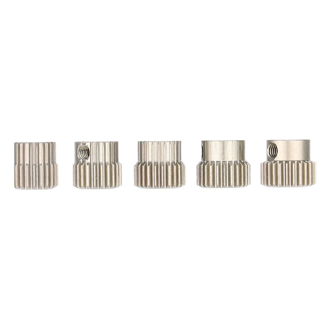 ABWE Best Sale 5pcs 64DP 3.175mm 21T 22T 23T 24T 25T Pinion Motor Gear Set for 1/10 RC Car Brushed Brushless Motor