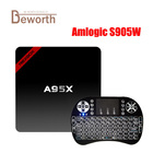 NEXBOX A95X Android 7.1 TV Box Amlogic S905W 2G 16G Quad Core 4K KODI 2.4GHZ Wifi Smart TV Box Media Player VS X96 mini