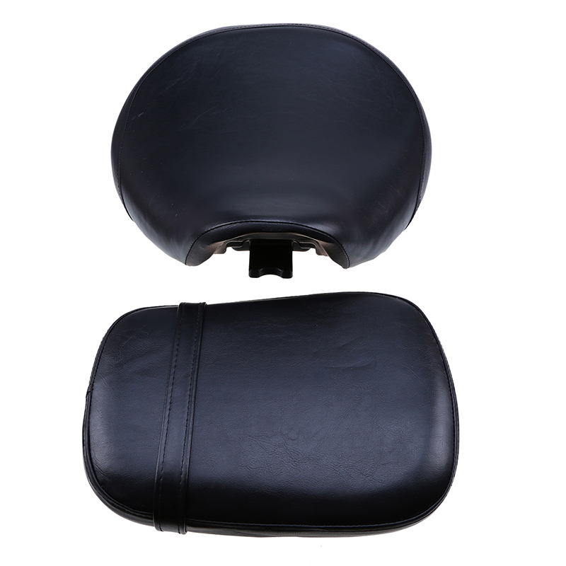 PU Leather Motorcycle Seats Front/Rear Seat Protector Cafe Racer Bobber Seat Cover Cushion ATV For Honda VT750/400 1998-2003
